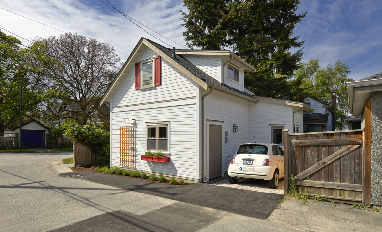 Arbutus laneway house, Vancouver, BC, by Smallworks, used with permission